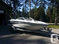 2010 larson .17.5 foot bowrider. like new .about