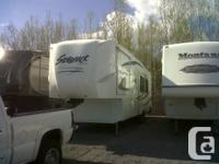 2010 Silverback 31B Bunk House 5th wheel,  Listed new