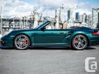 this unbelievably low mileage 911 Turbo Cabriolet has