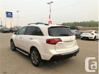 Make Acura Model MDX Year 2010 Colour White kms 156307