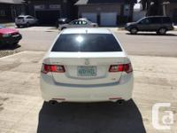 Make Acura Model TSX Year 2010 Colour White kms 70000