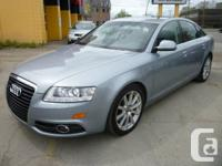 Comments THIS IS A 1 OWNER LEASE RETURN AUDI A6 3.0T S