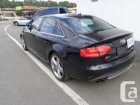 Make Audi Model S4 Colour black Trans Automatic kms