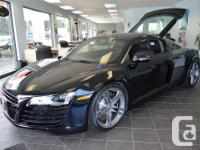 Make Audi Model R8 Year 2010 Colour Black kms 12305