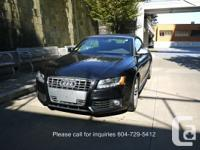 2010 Audi S5 Vancouver car. No previous accident.