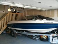 This boat is like new stored in side year round