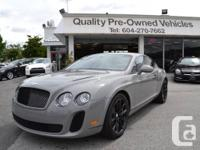 2010 Bentley Continental Supersports. Exterior Colour: