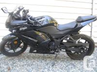 2010 Black Kawasaki Ninja 250 in perfect condition. The