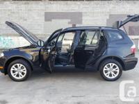 Make BMW Model X3 Year 2010 Colour Black kms 192000