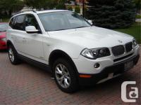 Make BMW Model X3 xDrive28i Year 2010 Colour White kms