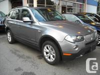 2010 BMW X3 WITH xDRIVE, 3.0L V6, AUTOMATIC, WITH