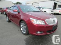 Make Buick Model LaCrosse Year 2010 Colour Red kms