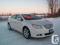 Make Buick Model LaCrosse Year 2010 Colour White kms