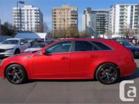 Make Cadillac Model CTS Year 2010 Colour Red kms