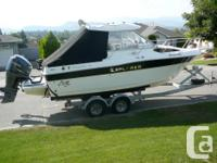 Here's a Great Fishing Machine with amenities the whole