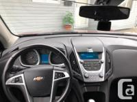Make Chevrolet Model Equinox Year 2010 Colour Red kms