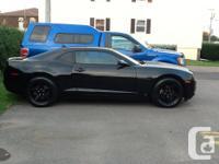 Make Chevrolet Model Camaro Year 2010 Colour Black kms