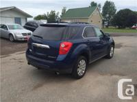 Make Chevrolet Model Equinox Year 2010 Colour BLUE kms