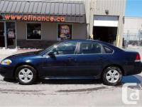 Make Chevrolet Model Impala Year 2010 Colour Blue kms
