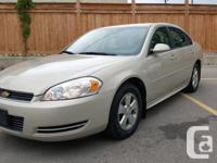 2010 Chevrolet Impala With the Chevrolet Impala you get