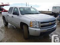 BID NOW 2010 Chev Silverado Colour: Grey Engine: 4.8 L