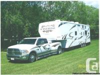 2010 Heartland Cyclone Toyhauler 3850 5th Wheel. Both