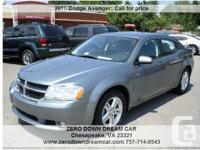 2010 Dodge Avenger R/T, 69,899 Address:  Chesapeake, VA