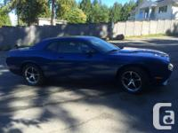 Make Dodge Model Challenger Colour BLUE Trans