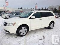 Pre-used Dodge Journey RT in white color. 7