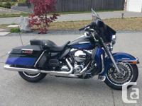 Make Harley Davidson Model Electra Glide Year 2010 kms