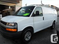 2010 Chevrolet Express 2500 Payload van comes geared up