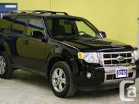 2010 Ford Escape Limited Black body paint Black leather