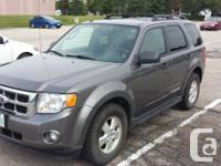2010 Ford Getaway XLT limited with grey natural leather
