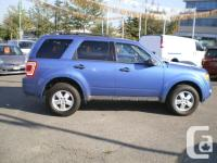 Make Ford Model Escape Year 2010 Colour Blue kms