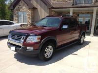 Make Ford Model Explorer Sport Trac Year 2010 Colour