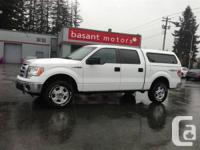 2010 Ford F150, beautiful White on Tan has a matching