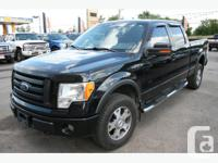 WOW!!! BLACK, BLACK LEATHER FX4, WITH BACK-UP CAMERA,