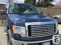 Make Ford Model F-150 SuperCrew Year 2010 Colour Blue