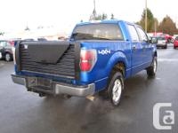 Make Ford Model F-150 Year 2010 Colour BLUE kms 164483
