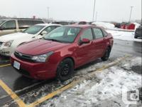 Make Ford Model Focus Colour Red Trans Automatic 2010