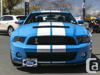 Make Ford Model Shelby Gt500 Year 2010 Colour BLUE kms