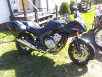 I'm have a perfect shape one owner motorbike to sell.