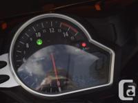 2010 Honda CBR1000RR Orange / Silver OEM Paint Loaded