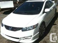 Selling my 2010 Civic Si as I am moving to Australia,