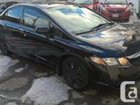 Make Honda Model Civic Colour BLACK kms 133000 Trans