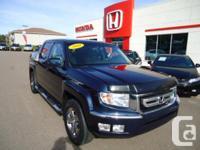 2010 HONDA RIDGELINE VP This is a one owner vehicle,