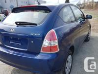 Make Hyundai Model Accent Year 2010 Colour BLUE kms