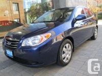 Make Hyundai Model Elantra Year 2010 Colour Blue kms