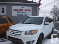 Make Hyundai Model Santa Fe Year 2010 Colour WHITE kms