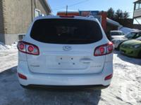 Make Hyundai Model Santa Fe Year 2010 Colour white kms